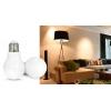 Умная SMART LED лампа, дистанционное управление 6W E27 RGBW (2700К + RGB)