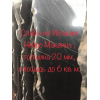 Пепельно черный мрамор Nero Marquina в редком орнаменте длинных и резких белых прожилок на угольном фоне