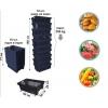 Пластиковый ящик для овощей купить в Запорожье, shopgidcomua