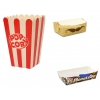 Стаканы для попкорна в наличии. Бумажные тарелки в наличии