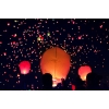Небесные фонарики желаний,  повітряні ліхтарі,  небесні ліхтарики,  літаючі ліхтарі,  китайські ліхтарі