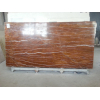 Коричневый мрамор хорошо подходит для покрытия потолка и стен