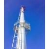 Дымовые и вентиляционные трубы на растяжках высотой до 75 метров, диаметром до 2000 милиметров.