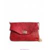 Кожаная сумочка-клатч на цепочке.