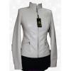 Белая куртка женская из натуральной овчины