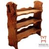 Деревянная мебель под старину, Тумба для обуви
