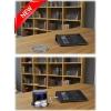 Блок розеток VoltPort 2x220 + USB-зарядное. Крышка из нержавеющей стали. LED подсветка