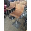 Барный стул б/у со спинкой в стиле лофт