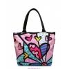 Молодежная сумка в цветочный пинт