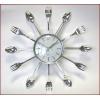 Часы настенные на кухню ложки-вилки