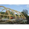 Производство гнуто-клееных деревянных конструкций, клееных балок